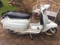 Lambretta Li 125,1963,UK REGISTERED