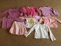 2-3 years girls clothing bundle