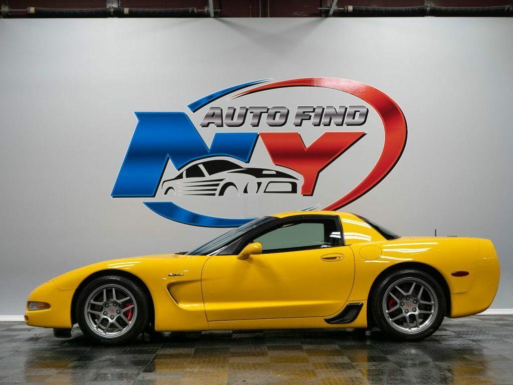 2001 Yellow Chevrolet Corvette Z06    C5 Corvette Photo 3