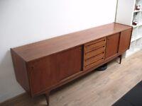 Vintage Danish Style Teak sideboard
