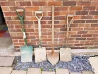 Shovels & trenching spade