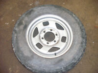 205 80 16 Wide Conqueror Tyre on Isuzu/Brava Wheel Tyre would also fit Landrover etc