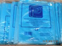 x100 Premier protective gowns dark blue long sleeved overalls non woven fabric liquid resistant