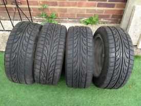 Set of Champiro 195 50 15 Tyres with 7mm Tread in Greenford Area