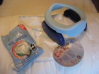 Potette Plus travel potty, with a few liners - very good condition