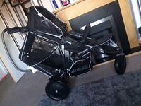 Hauck freerider double pushchair