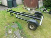 Motorbike trailer motorcycle very good condition pit bike