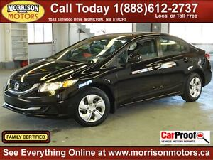 2013 Honda Civic LX, Auto, Heated Seats