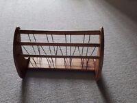 Wooden Letter/Newspaper Rack