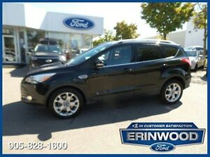 2014 Ford Escape Titanium - 2.0L ECOBOOST/LTHR/PROOF/NAV/REV CAM