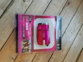 Pink Digital Camcorder