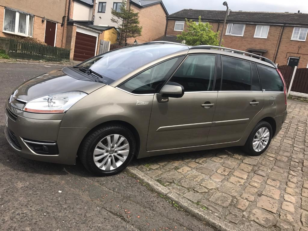 citroen c4 grand picasso 2 0 hdi 16v exclusive 7 seater. Black Bedroom Furniture Sets. Home Design Ideas