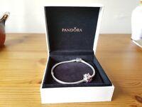 Genuine Pandora Bracelet and charm