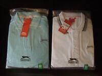 Gents Slazenger polo shirts. (New)