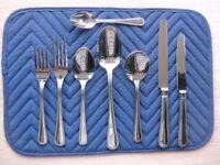 Original Viners 58 piece Cutlery Set - Bead 18/0 - Stainless Steel - New & Unused