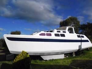 33ft Cruising Catamaran 80% complete Cambridge Clarence Area Preview
