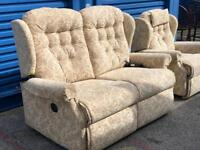 Stunning All Electric Sherborne Rise & Recline Chair and matching Sofa.