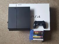 Playstation 4 500 Gb - Barely used with games