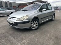 2001/51 PEUGEOT 307 1.4CC FULL SERVICE HISTORY WITH MOT LOOKS & DRIVES GREAT