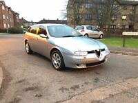 ALFA ROMEO 2.4 JTD Only 1 Owner FULL RED LEATHER NEW MOT CLEAR HPI