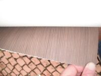 Vinyl flooring Lino Modern Grey or Brown striped Brand New, Quality 1.6m x 4m