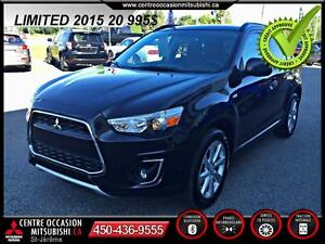 2015 Mitsubishi RVR LIMITED AWC  MAGS 18