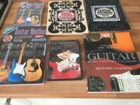Guitar books and cd