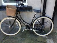 Women's dutch style vintage bike 19 inch