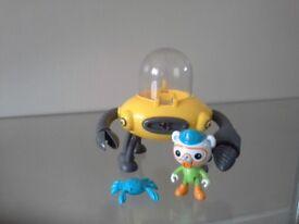 Octonauts Gup D Crab Mode