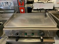 NEW ELECTRIC FLAT GRILL CAFE KEBAB BBQ RESTAURANT SHOP CATERING COMMERCIAL KITCHEN
