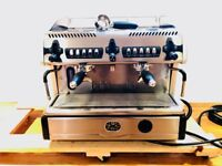 La Spaziale 2 Group EK Compact Espresso Coffee Machine. Used for only 10 months