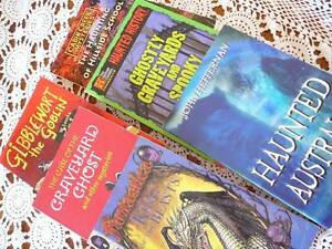 6 mixed childrens books Haunted Mystery Goblin Seaton Charles Sturt Area Preview