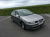 FANTASTIC 2004 SEAT LEON FR 1.9 TDI FOR SALE WITH FULL SERVICE HISTORY AND 12 MONTH MOT