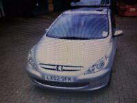 £995 Peugeot 307 SW 1.6 Rapier 16v 5dr [AC]