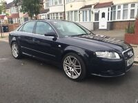 2007 audi a4 2.0 diesel automatic S LINE , SAT NAV , cheapest in uk , part exchange welcome