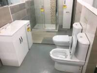 Turkish style toilets with washer