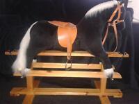 Glider rocking horse.