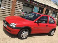 Vauxhall corsa B 1.4 8v automatic low mileage with new mot cheap ideal first car