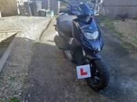 Piaggio typhoon 125cc, 2 YEAR MOT, 1 YEAR MANUFACTURING WARRANTY