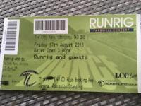Runrig farewell tickets