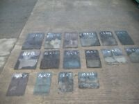 RECLAIMED ROOFING SLATES AND TILES
