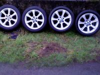 1 BMW 17 IN ALLOY IN EXCELLENT CONDITION FOR A SPARE