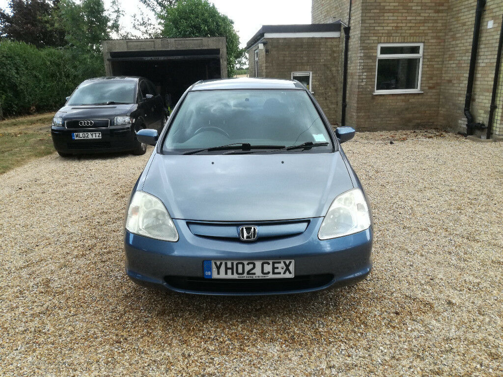 2002 Honda Civic Mpg >> Honda Civic 1 7 Cdti 2002 Recent Cambelt Mot Until 19 06 2019 In Bury St Edmunds Suffolk Gumtree