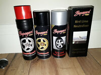 Supagard Alloy Wheel Cleaner & Protector + Tyre & Trim Dressing + Bird Lime Neutraliser