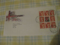 European Football Championship 1996 First Day Cover stamps - perfect condition