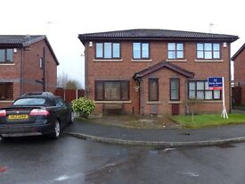 3 BEDROOM SEMI-DETACHED MODERN HOUSE WITH LARGE GARDEN