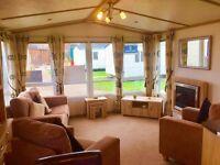 Luxury Static Caravan for SALE*12 Month Season*Site fees inc*Eyemouth Nr Berwick Haggerston,Borders