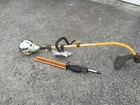 Petrol Strimmer with Hedge Trimmer Attachment