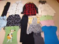 Bundle of girls clothes age 9-10