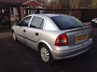 Vauxhall Astra 1.6L 59,000 Miles 2003 (52 Plate) 5 Months MOT/HPI Clear - 1 Owner